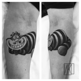 Cheshire Cat Tattoo - La Rochelle - Rochefort Niko Bushman